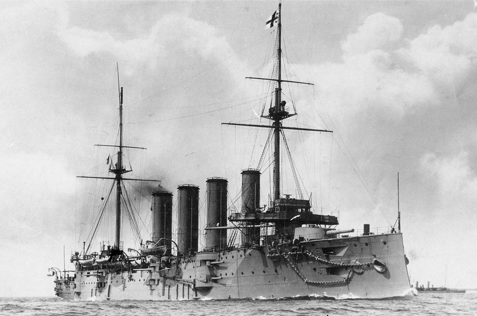 HMS GOOD HOPE-12-1901-1914TCR