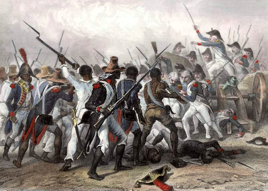Battle of Vertieres in 1803