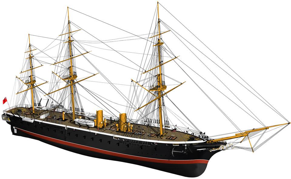 HMS-WARRIOR-1860-RENDERING-110912