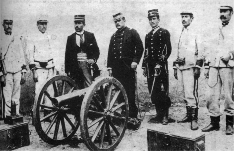боливийские артиллеристы