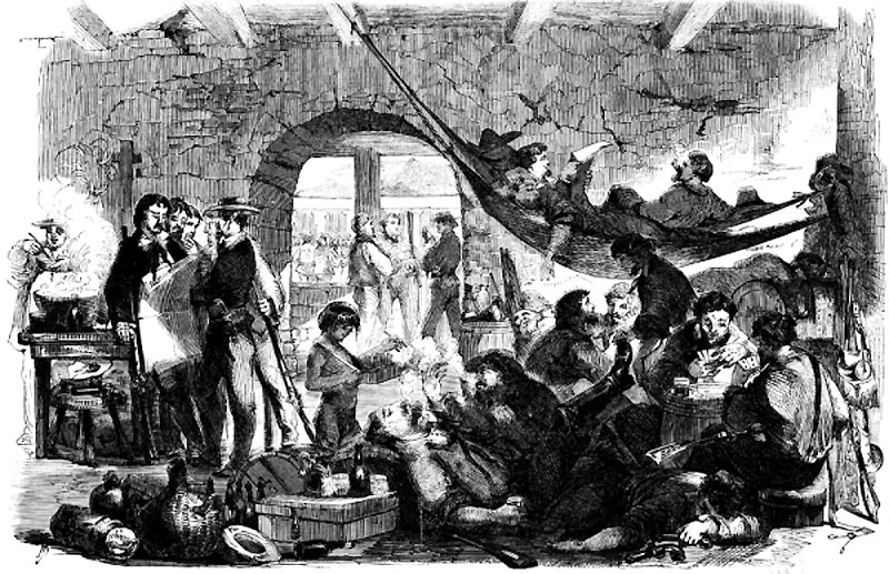 1856-nicaragua-fillibusters-reposing-after-the-battle-in-their-quarters-at-the-convent-3c08152v1