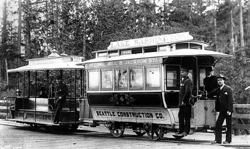 Grip_car_and_trailer_car_of_cable_street_railway,_Seattle,_1888