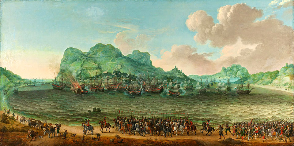 1607 - Adam Willaerts Battle of gibraltar