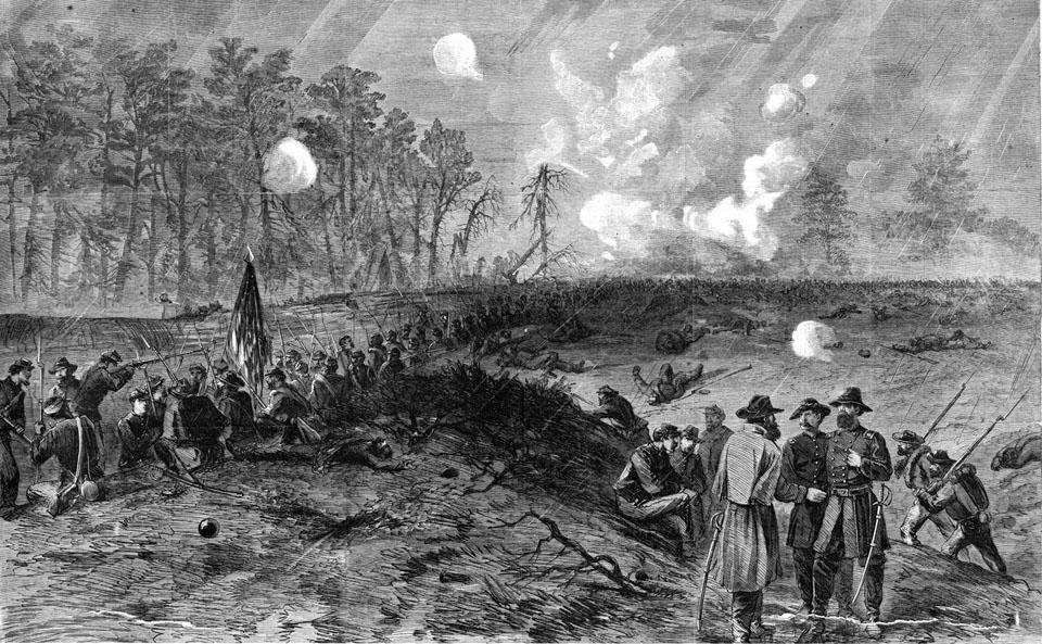 Spotsylvania salient May 12
