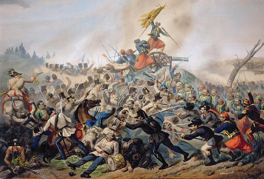 the-battle-of-magenta-coloured-engraving-italian-school