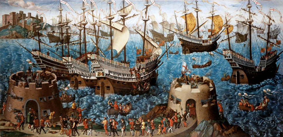 Basire_Embarkation_of_Henry_VIII