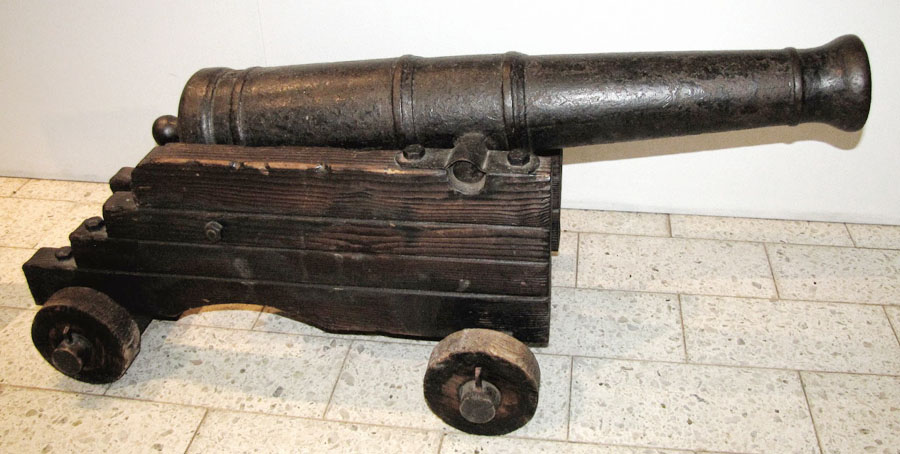 17th century cannon