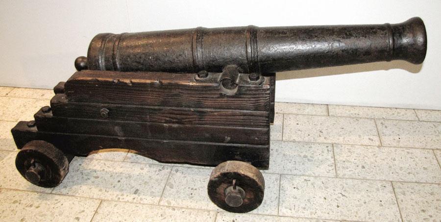 17th century cannon