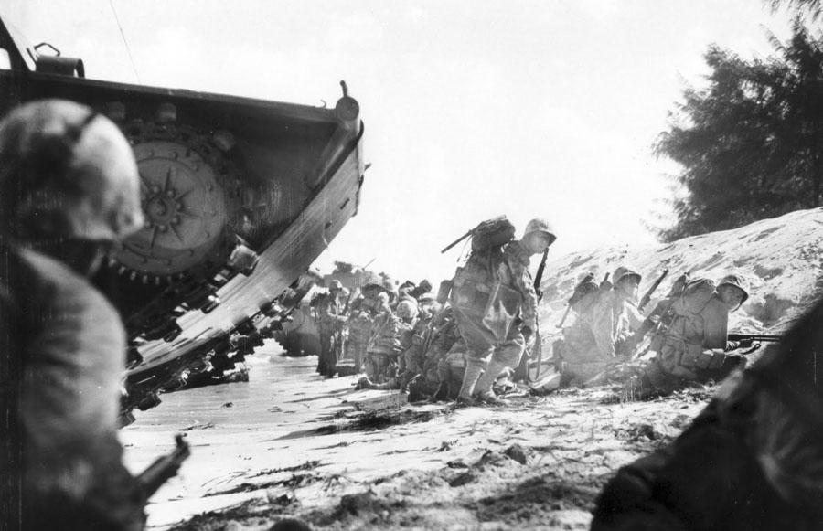 Marines-on-Saipan