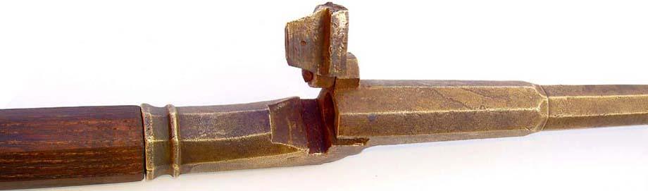 Hinterlader-Bronze-Stangenbbьchse -1480, v. Richard Bauer, 2006.  4 kl