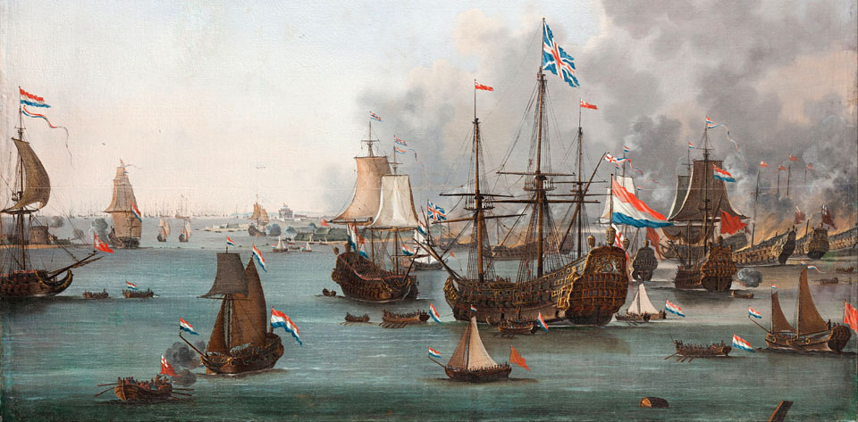 Willem_van_der_Stoop_-_The_Battle_of_Chatham_-_Google_Art_Project