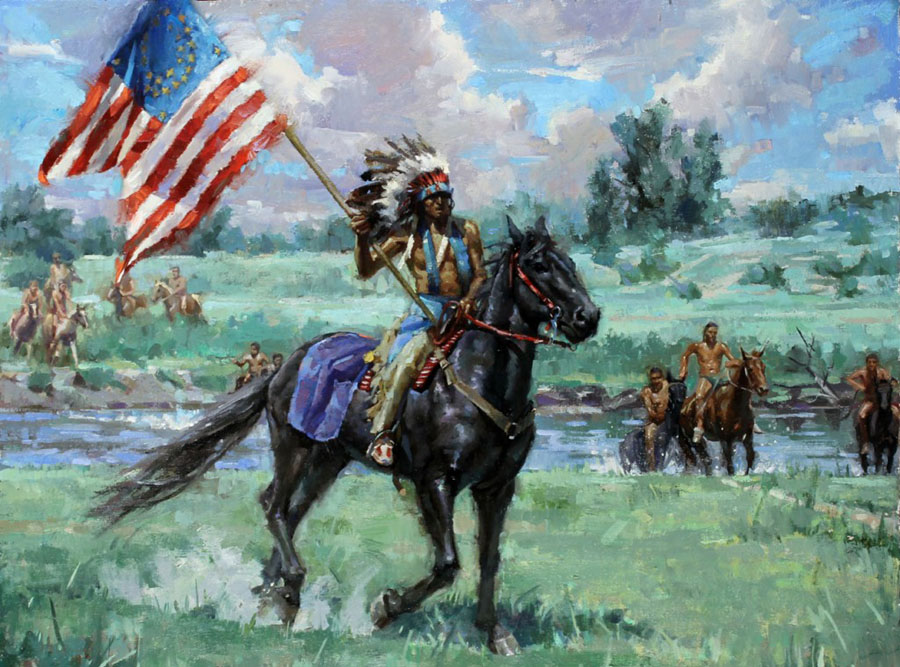 Capture-the-flag-Battle-of-Little-Bighorn-by-Meadow-Gist-1024x816