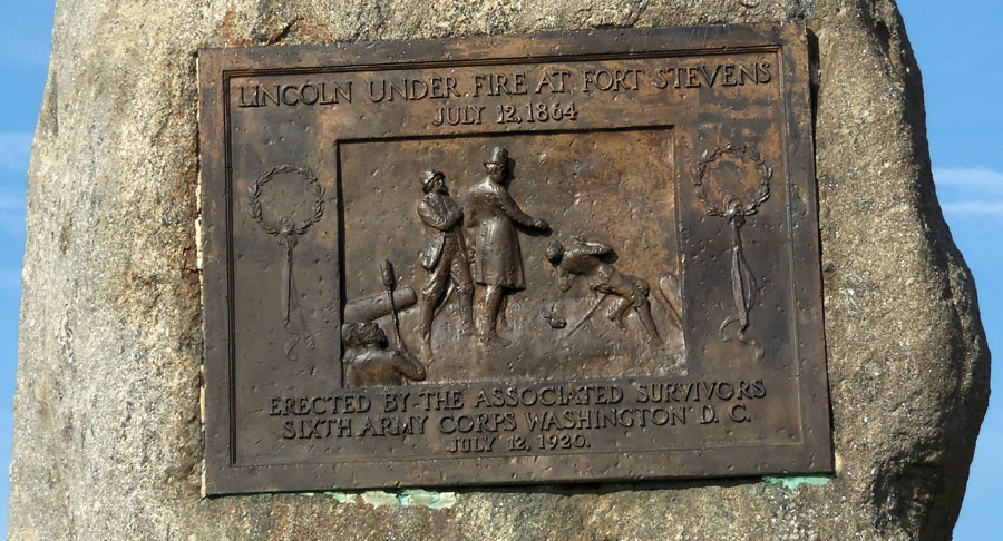 Fort_Stevens_Park_DC_Lincoln_marker