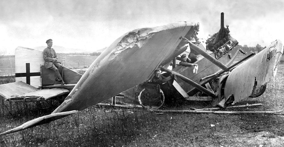Junkers J.1 839-17 (1). The original crew would have been very lucky indeed to have walked away from this crash landing