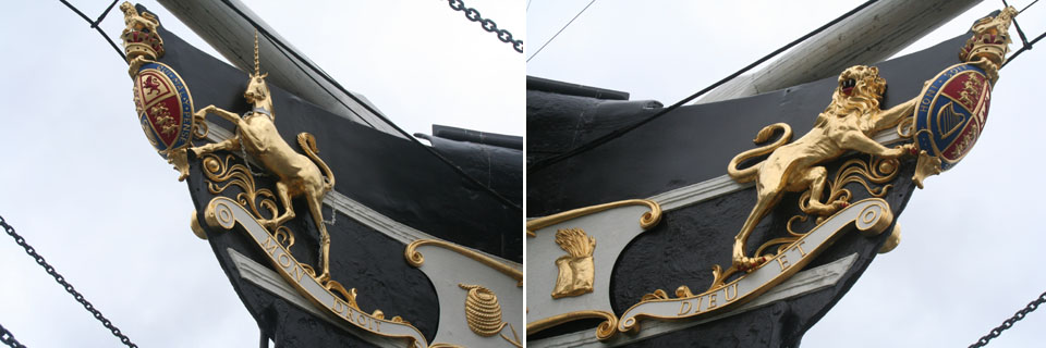 SS_Great_Britain_figurehead,_port_side