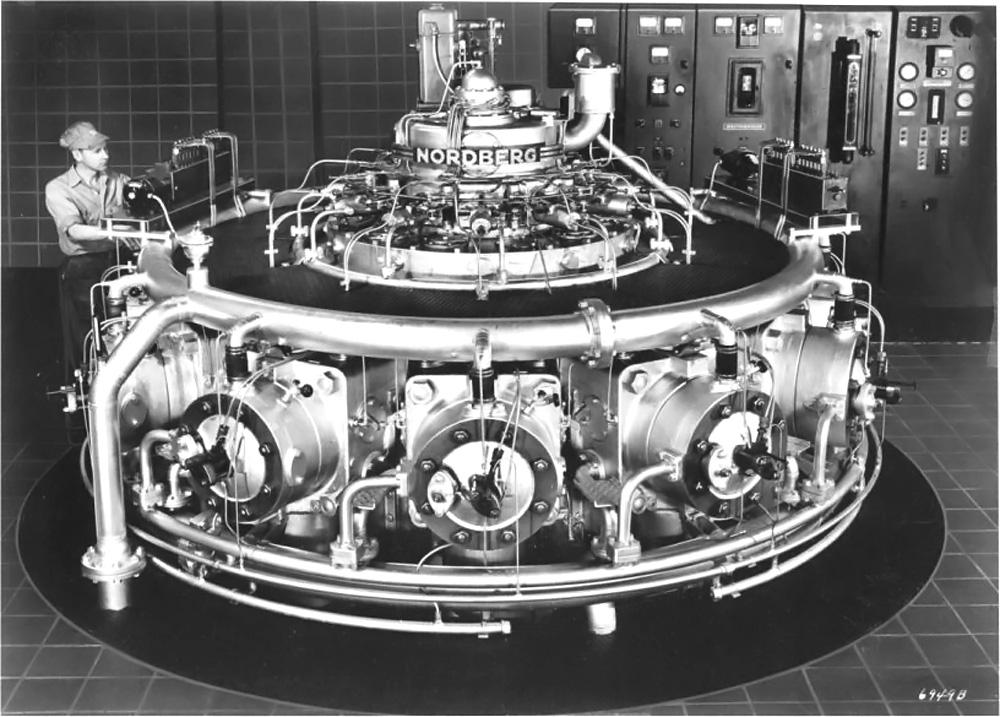 nordberg-12-cylinder-radial-diesel