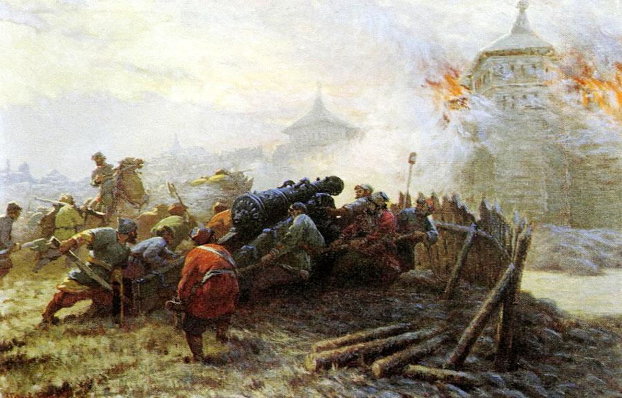 Осада Казани (1)