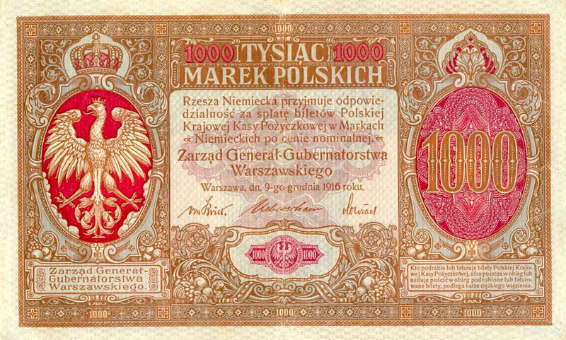 Poland-German-Occupation-WWI-Polish-State-Loan-Bank