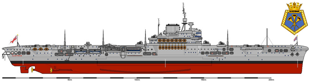 CV 87 Illustrious 1940