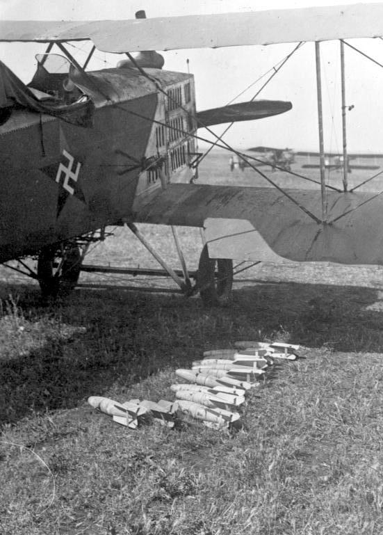 Bombenflugzeug