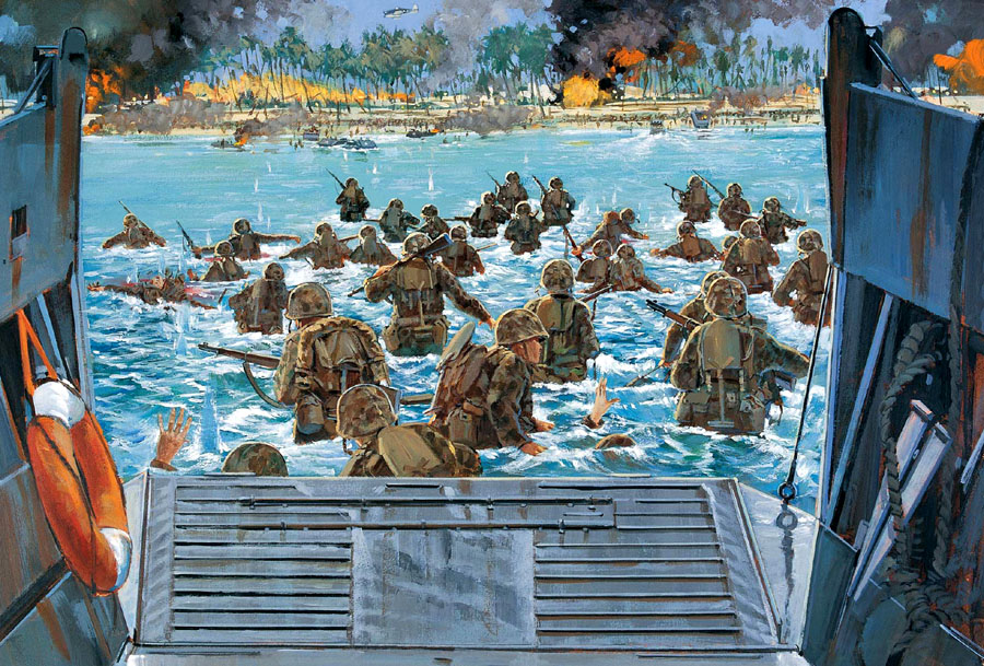 Wallpaper_4607_Battle_Tarawa