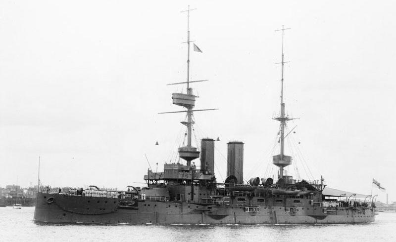 HMS_Bulwark_(1899)