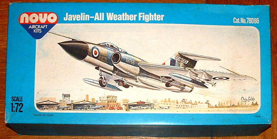 NOVO-KIT-for-a-GLOSTER-JAVELIN-ALL-WEATHER