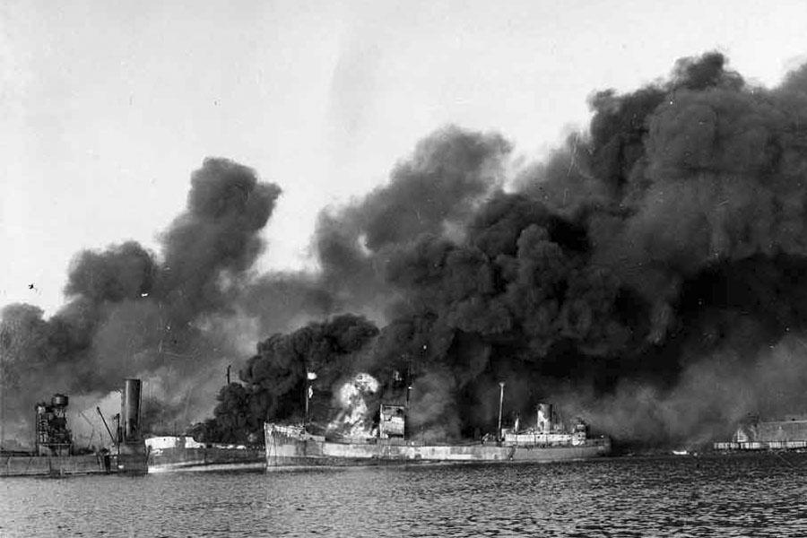 Bari-harbour-disaster