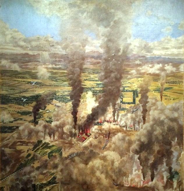 Sato-Air-raid-on-Clark-Field-1942s