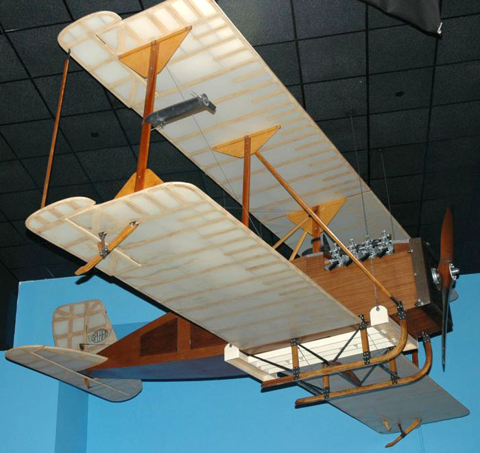 Curtiss-Sperry Aerial Torpedo replica 1