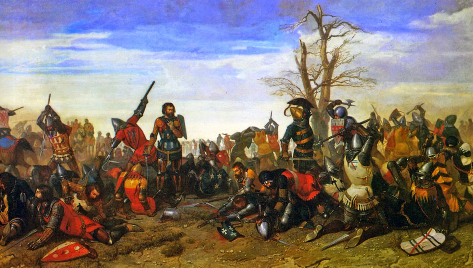 Octave Penguilly L'Haridon - The Combat of the Thirty 1857