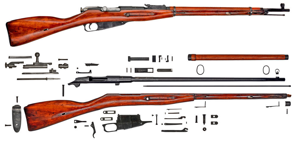 USSR-Rifle-Mosin-Nagant-M1891