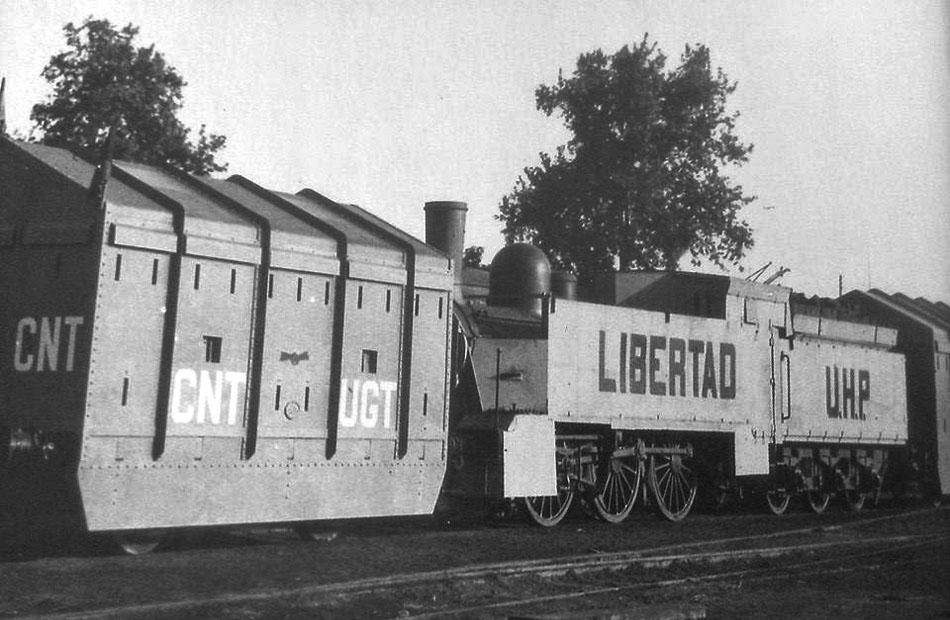 tren blindado