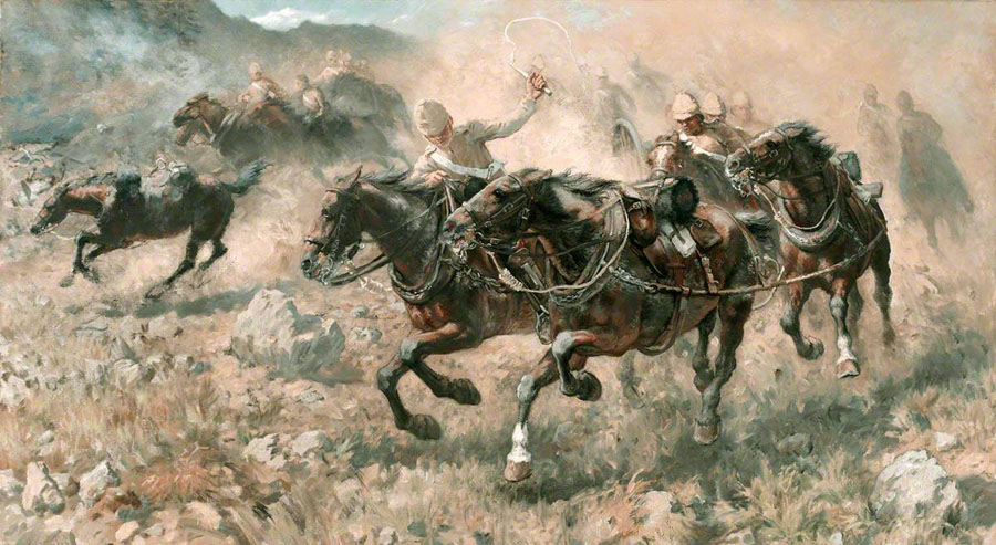 Maiwand-Royal-Horse-Artillery-27-July-1880