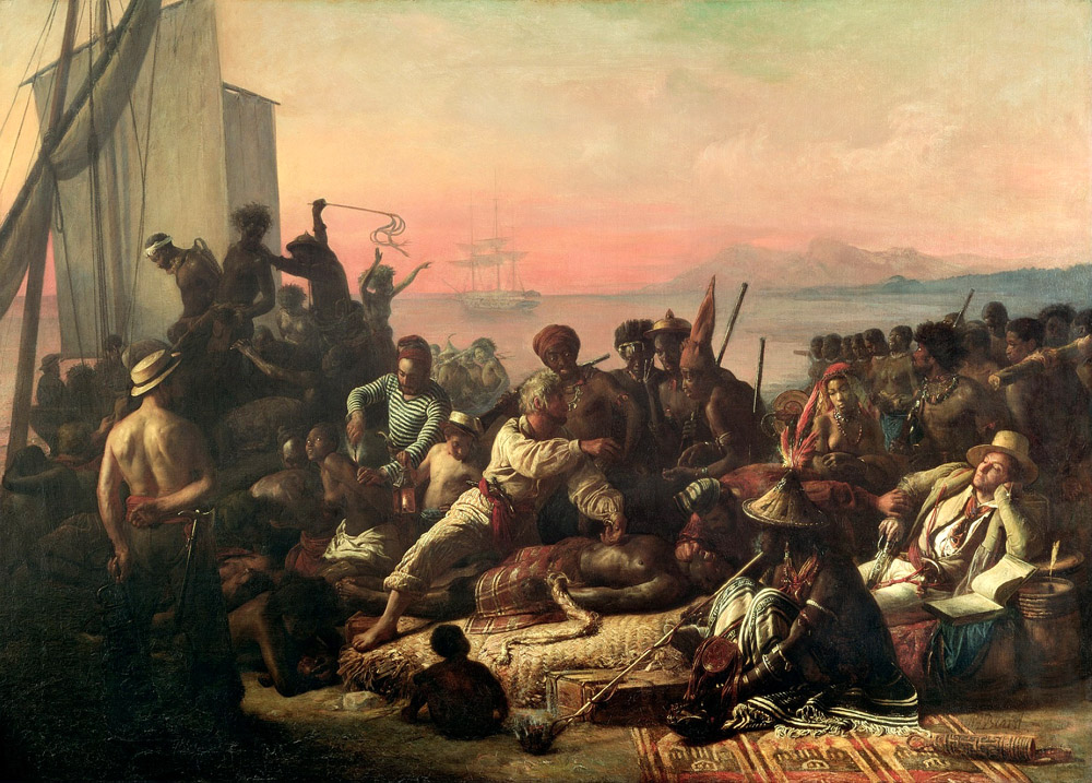 Как перевозили африканских рабов The_Slave_Trade_by_Auguste_Francois_Biard.jpg
