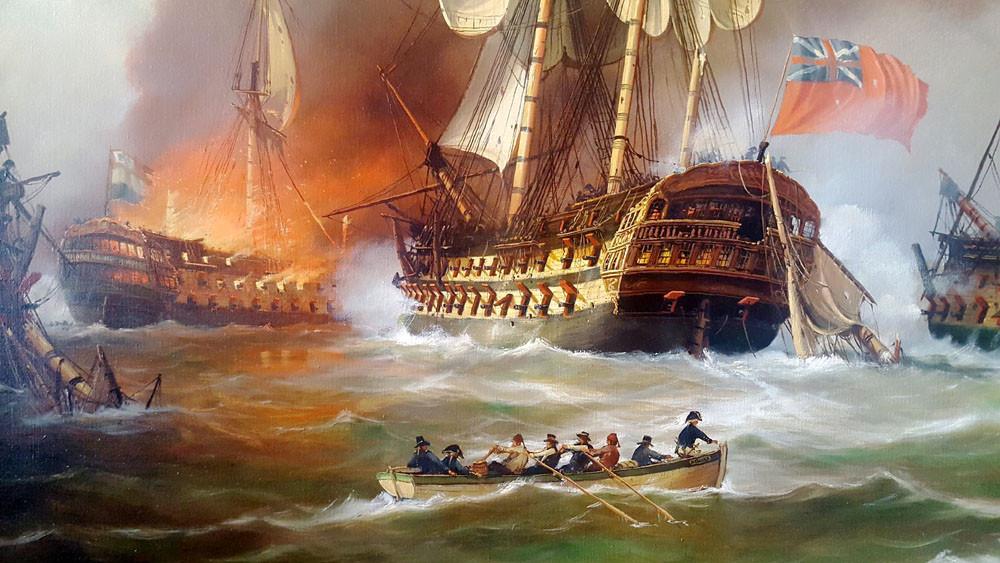 Zeeslag-bij-Kamperduin-1797-s-Lands-Schip-van-Oorlog-Vryheid-en-Hercules-in-gevecht-door-A.-Lourens-detail-2.jpg