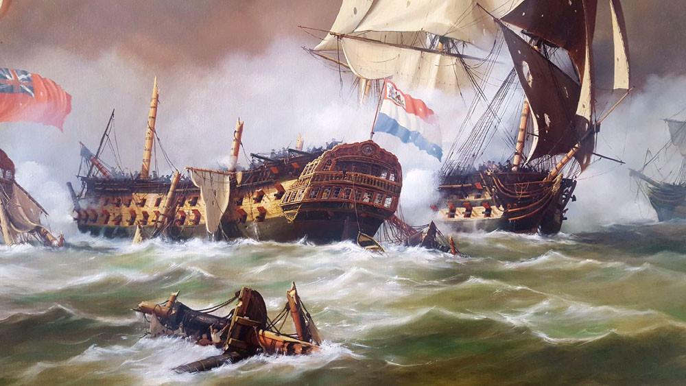 Zeeslag-bij-Kamperduin-1797-s-Lands-Schip-van-Oorlog-Vryheid-en-Hercules-in-gevecht-door-A.-Lourens-detail-1.jpg