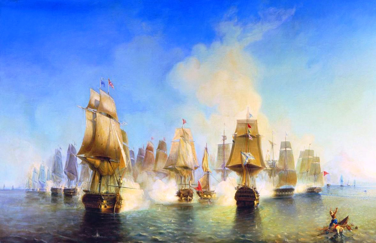 Оле, оле, оле! Battle_of_Athos_1807.jpg