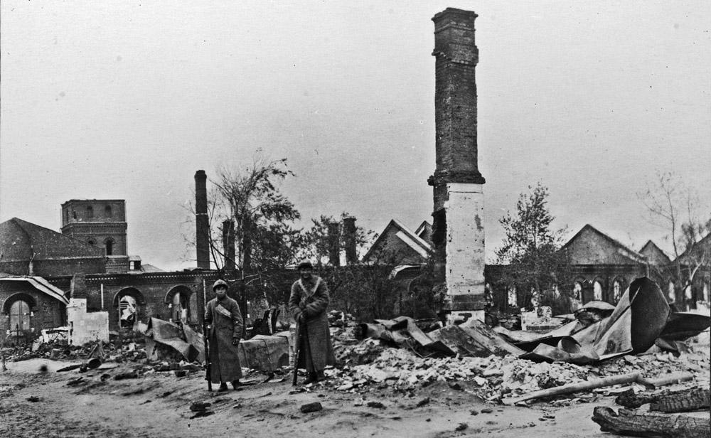 Сто лет Ярославскому антибольшевистскому восстанию kitaycy-v-YAroslavle-1918-god