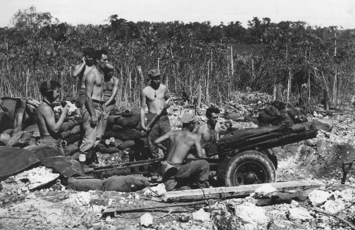 75mm_Howitzer,_Peleliu,_1944_(8009922393).jpg