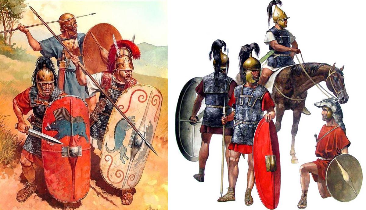 Легионеры против фалангистов