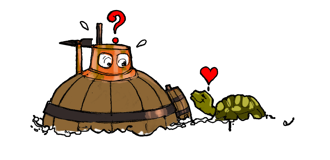 Сказка про черепашку