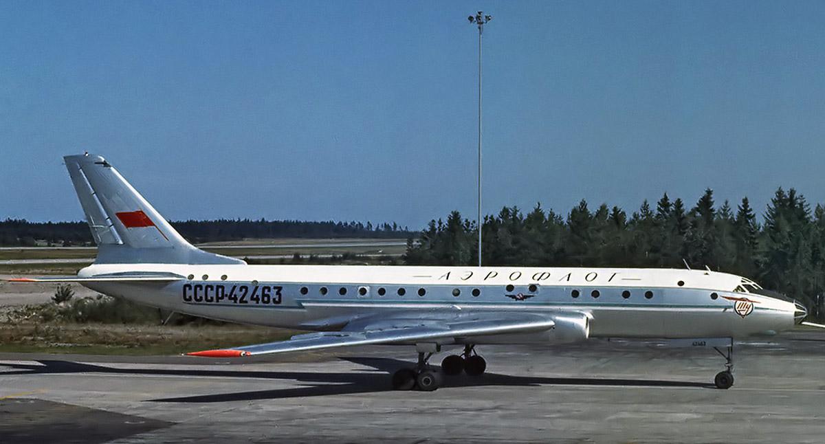 Взлеты и падения Ту-104