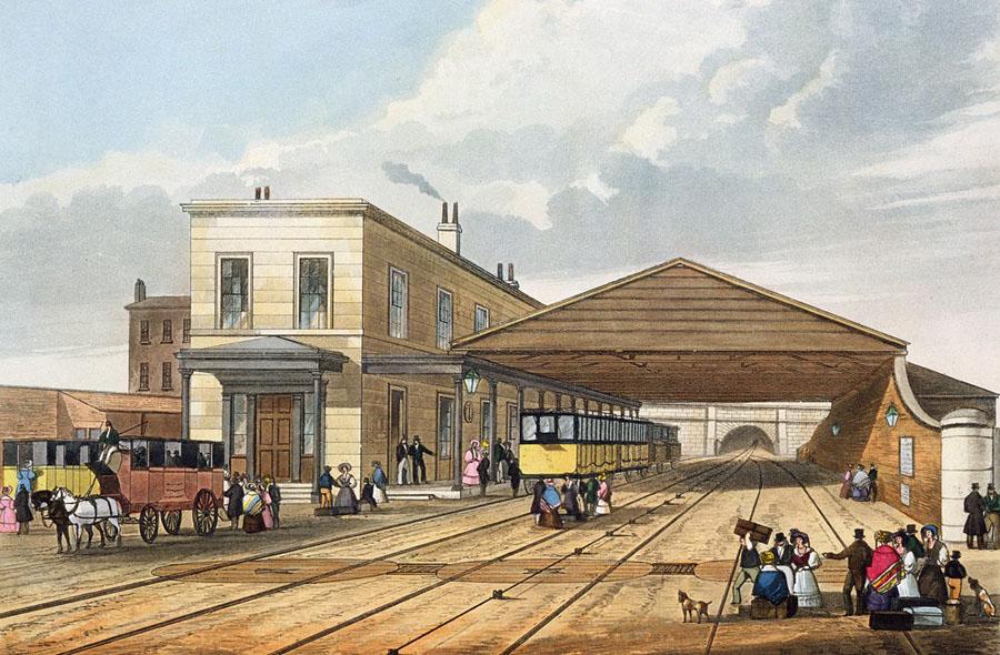 История строительства первой железной дороги в России