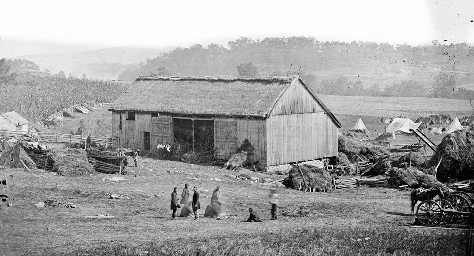 Smiths-barn-used-as-a-hospital-after-the-battle-of-Antietam