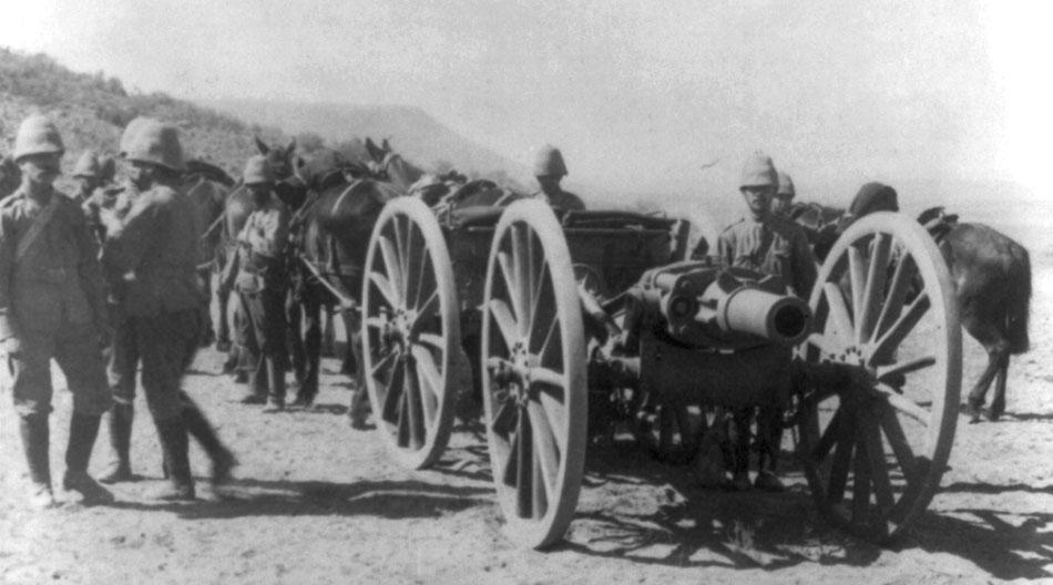 BL_5_inch_Howitzer_Second_Boer_War_LOC_LC-USZ62-48652