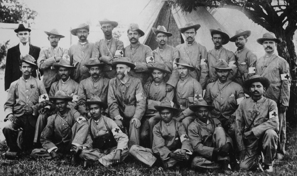 Gandhi_Boer_War