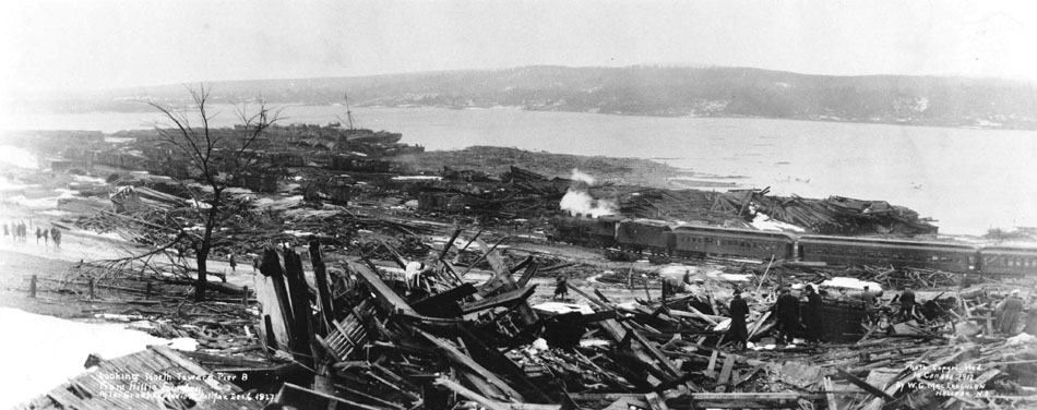 Looking_North_toward_Pier_8_from_Hillis_Foundry_after_Halifax_Explosion,_Halifax,_Nova_Scotia,_Canada,_ca._1917