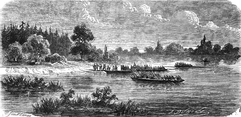 Polish_volunteers_crossing_San_River