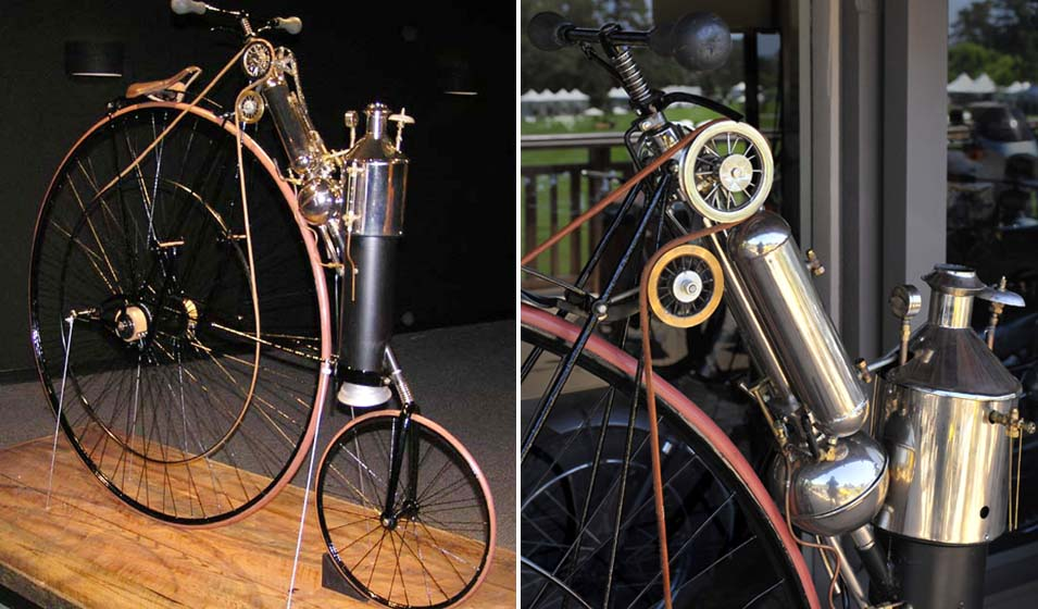 1884_Copeland_Steam_Cycle_(replica)_The_Art_of_the_Motorcycle_-_Memphis